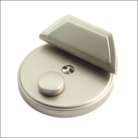 Mappenschloss, rund | nickel matt