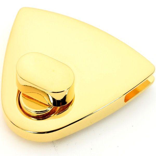 XXL Drehverschluss 50x40mm | gold pol.