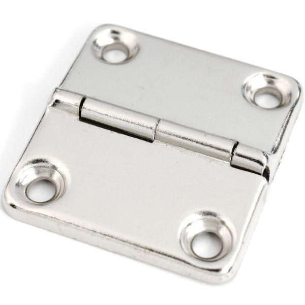 Koffer-Scharnier 40 mm | vernickelt