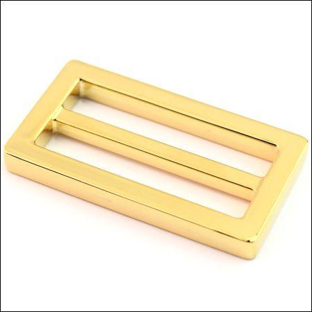 DESIGN-Schiebeschnalle 40 mm | gold pol.