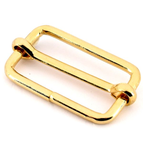 Schiebeschnalle 40 mm   gold pol.