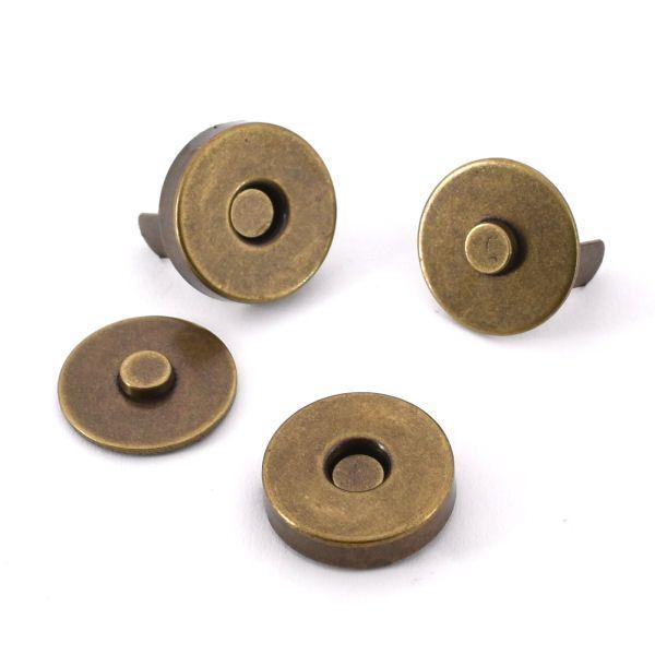 Magnetschloss 18 mm | altmessing