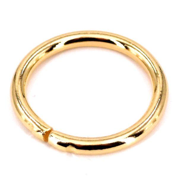 Ring 35 mm | gold pol.