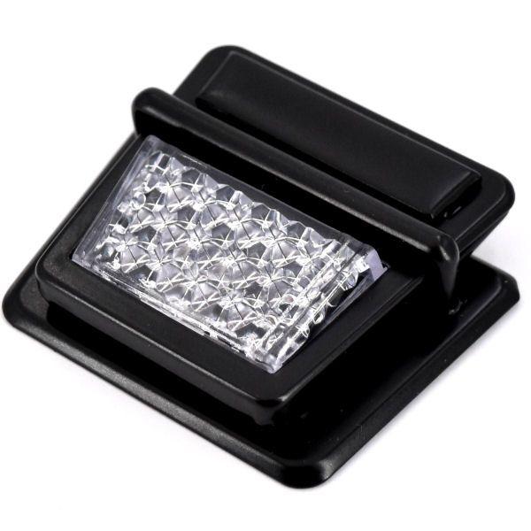 Steckschloss Reflektor | BLACK LINE seidenmatt schwarz