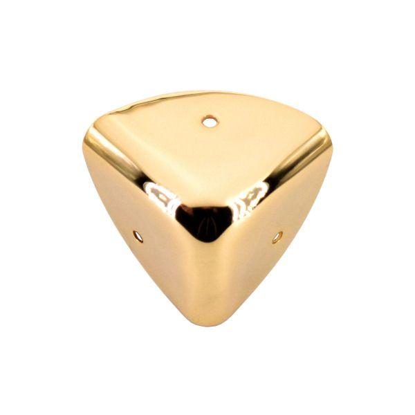 PREMIUM-Kofferecke 22 mm | vergoldet 24 kt