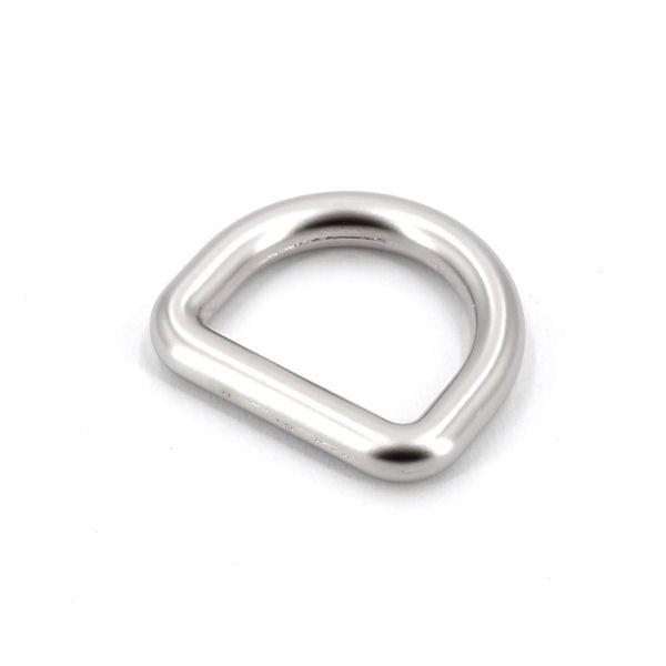 DESIGN D-Ring 20 mm | nickel matt