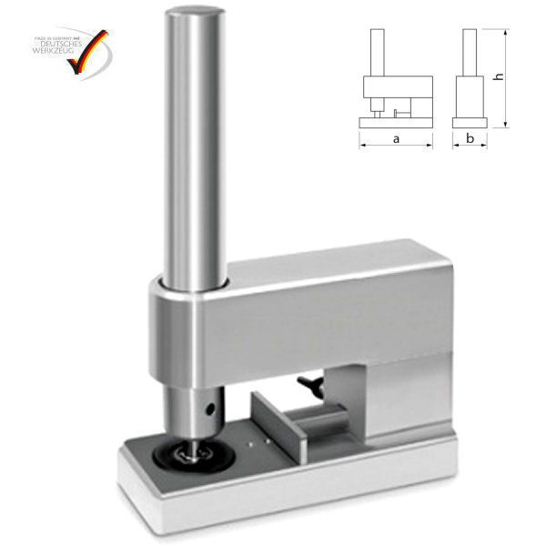 Selbstlochende Einschlagvorrichtung | für DIN-Öse 12 mm