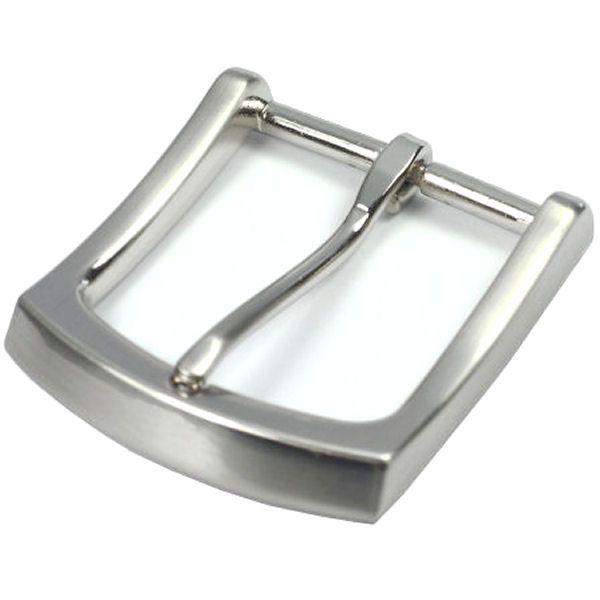 DESIGN-Gürtelschnalle 40 mm | nickel gebürstet