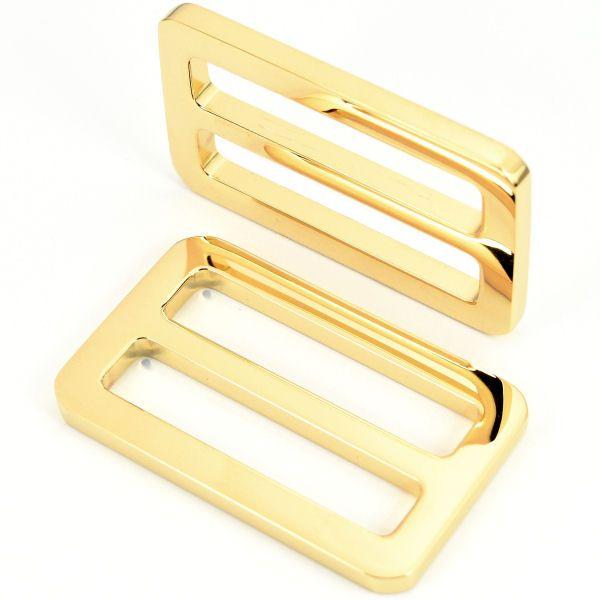 PREMIUM-Schiebeschnalle 40 mm | vergoldet 24 kt