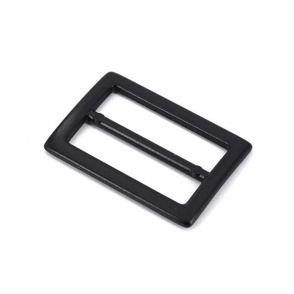 DESIGN-Schiebeschnalle 25 mm | BLACK LINE seidenmatt schwarz