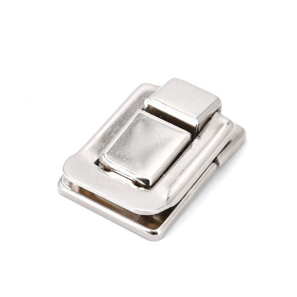 Kofferschloss, mini   nickel