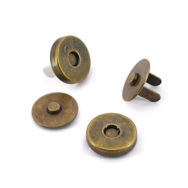 Magnetschloss 14 mm | altmessing