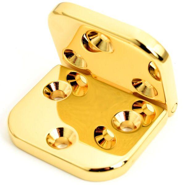 PREMIUM-Scharnier 40 mm | vergoldet 24 kt
