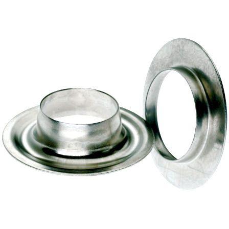 DIN Rundösen 8 - 40 mm | MESSING vernickelt