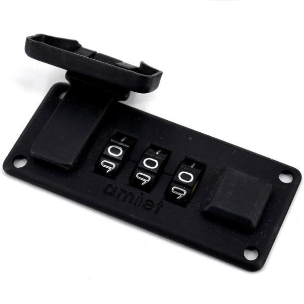Zahlenschloss 65 mm | matt-schwarz