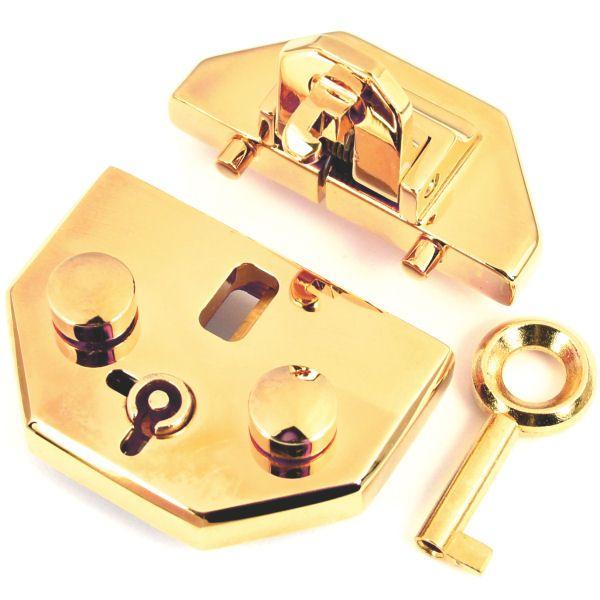 PREMIUM-Mappenschloss | vergoldet 24 kt