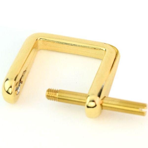 Griffhalter 20 mm   gold pol.