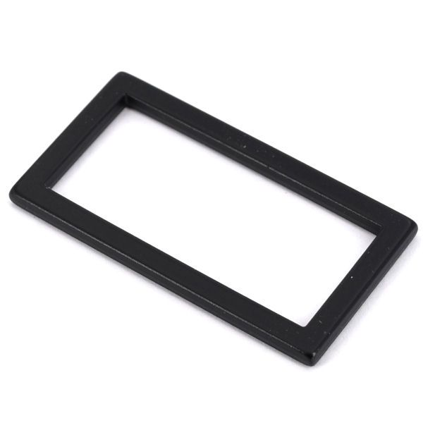 DESIGN-Griffring 40 mm   BLACK LINE seidenmatt schwarz
