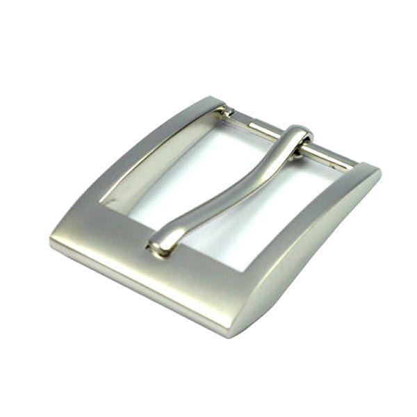 DESIGN-Gürtelschnalle 30 mm | nickel matt