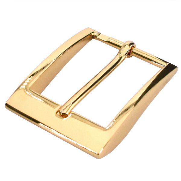 DESIGN-Gürtelschnalle 35 mm | gold pol.