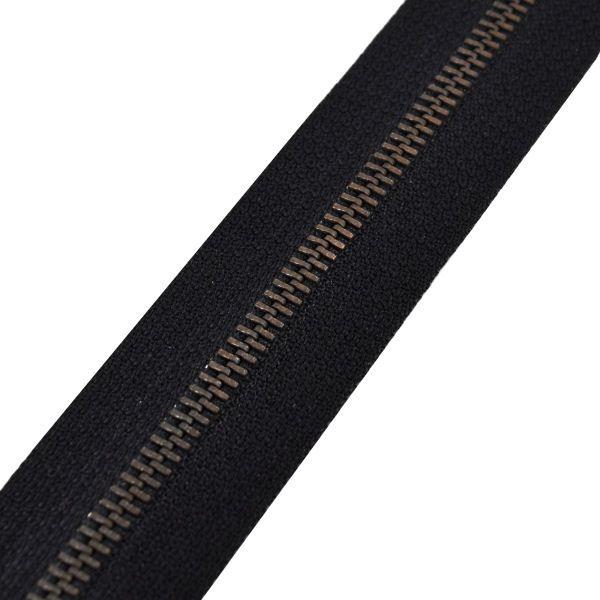 Reißverschluss M60 | schwarz/brüniert