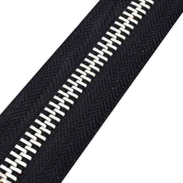 Reißverschluss M80 EXTRA STARK | schwarz/nickel