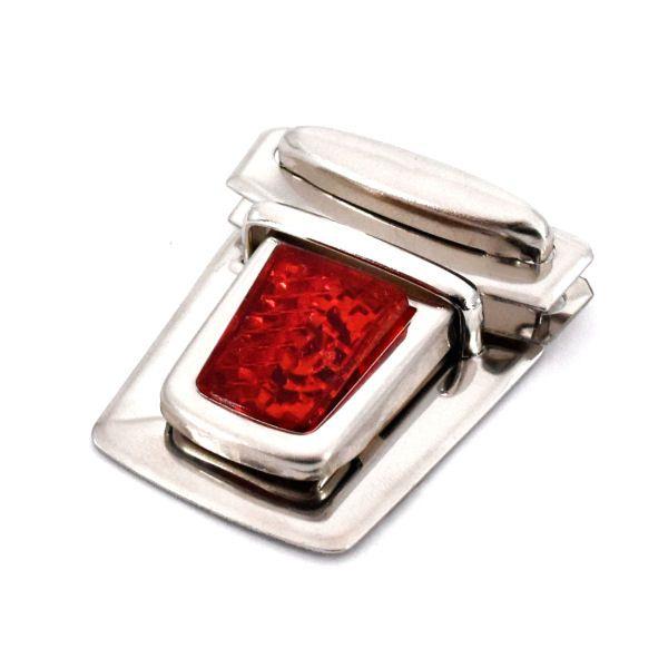 Steckschloss, Reflektor | rot