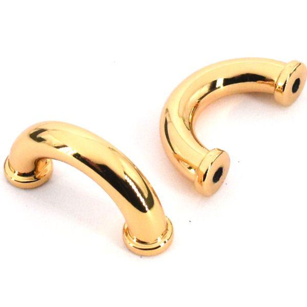 Griffhalter 16 mm | gold pol.