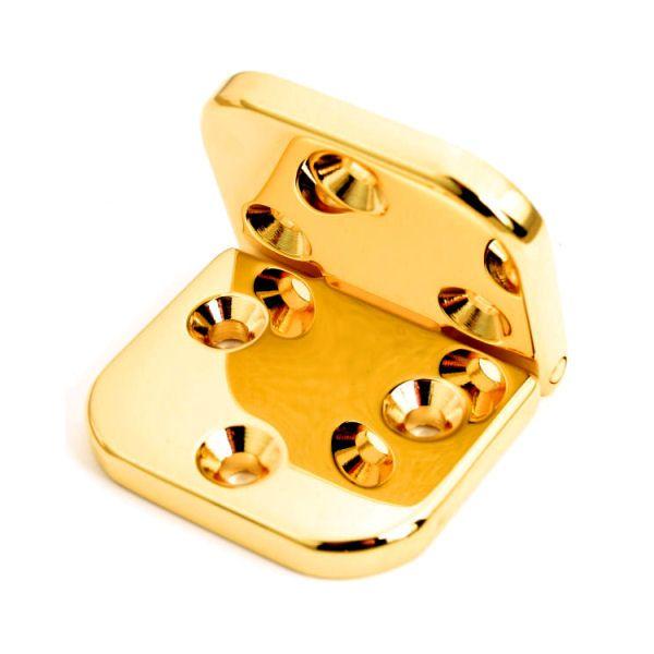 PREMIUM-Scharnier 30 mm | vergoldet 24 kt