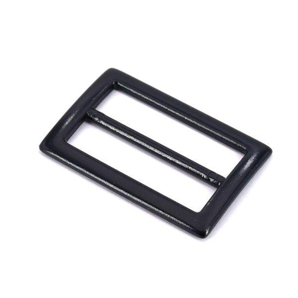 DESIGN-Schiebeschnalle 30 mm | BLACK LINE seidenmatt schwarz