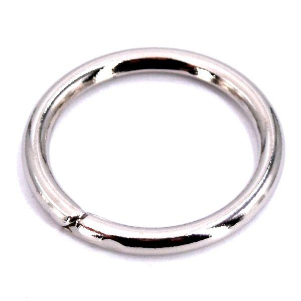 Ring 40 mm | vernickelt