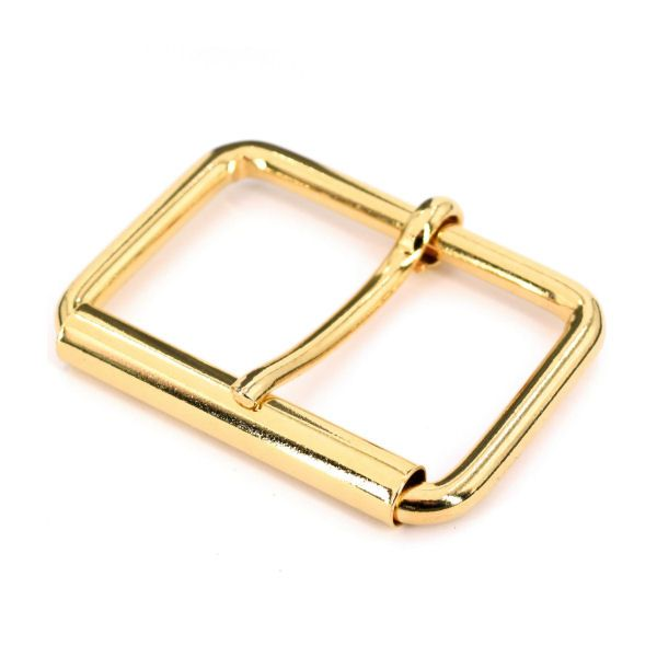Rollschnalle 35 mm | gold pol.