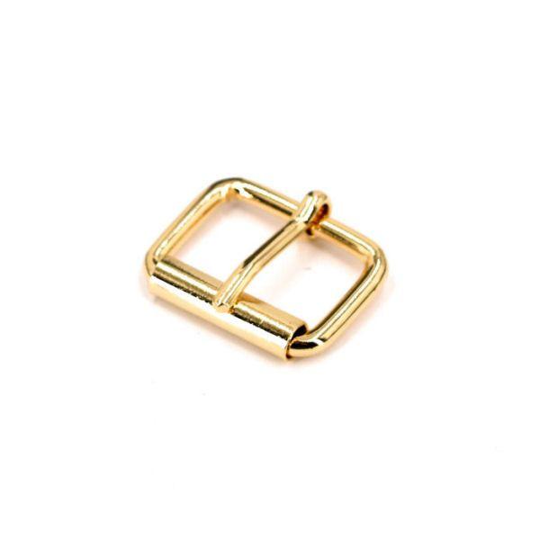 Rollschnalle 20 mm | gold pol.