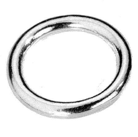 Ring | 37mm | MESSING vernickelt