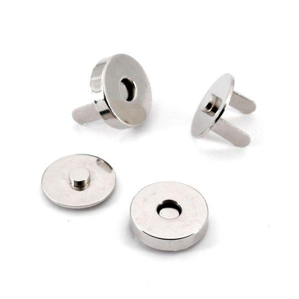 Magnetschloss 14 mm | nickel pol.