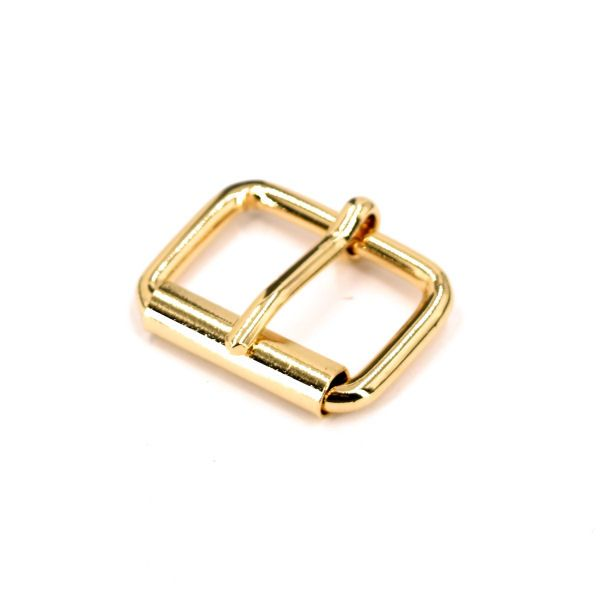 Rollschnalle 25 mm | gold pol.
