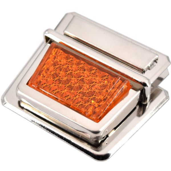 Steckschloss, Reflektor | orange