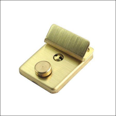 Mappenschloss, klein | gold satiniert