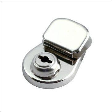 englisches KLASSIK-Mappenschloss, klein | nickel