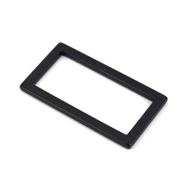 DESIGN-Griffring 30 mm | BLACK LINE seidenmatt schwarz
