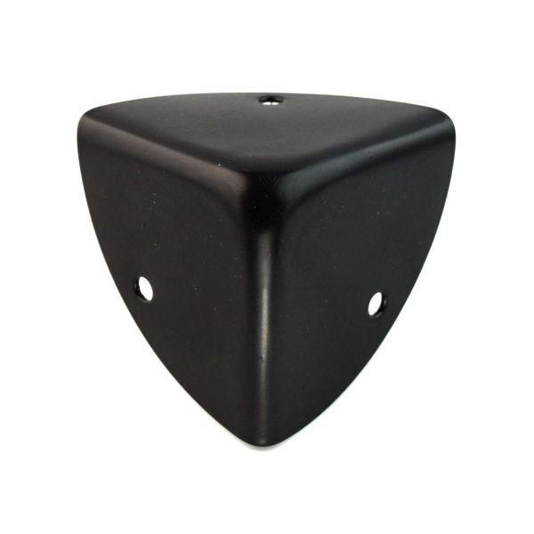 Kofferecken 32 mm   BLACK LINE seidenmatt schwarz