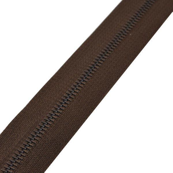 Reißverschluss M60 | braun/brüniert