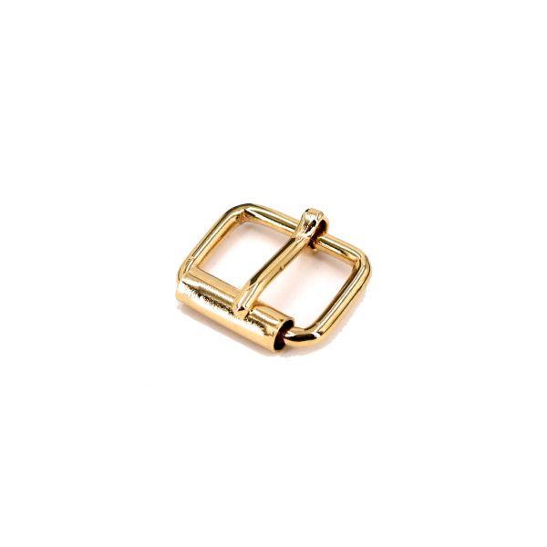 Rollschnalle 16 mm | gold pol.